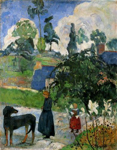 Paul Gauguin - In den Lilien