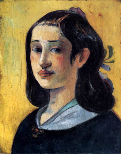 Paul Gauguin - Portrait of Aline Gauguin