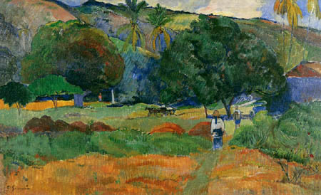 Paul Gauguin - The small valley