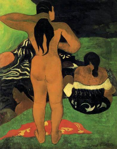 Paul Gauguin - Bathing womans