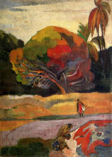Paul Gauguin - Women at the river