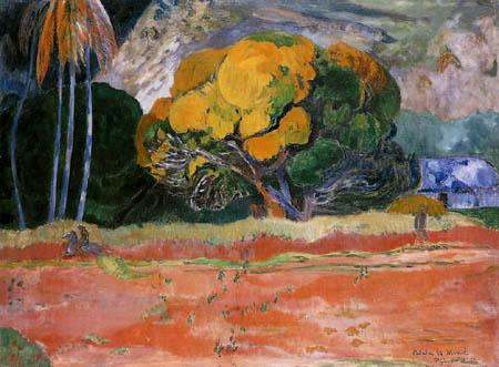 Paul Gauguin - On the high mountain