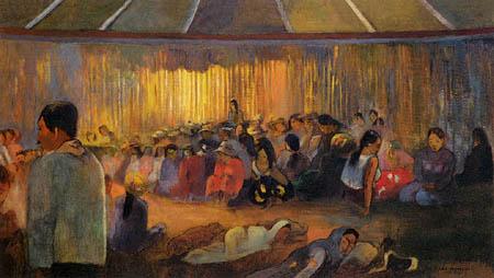 Paul Gauguin - Die Hütte der Gesänge
