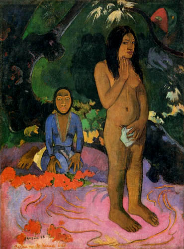 Paul Gauguin - Worte des Teufels, Parau na te varua ino