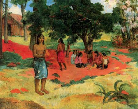 Paul Gauguin - Parau parau