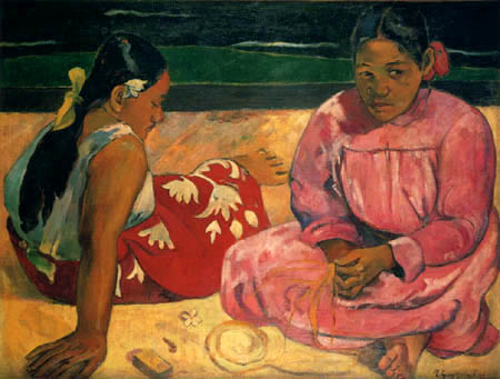 Paul Gauguin - Women at the beach