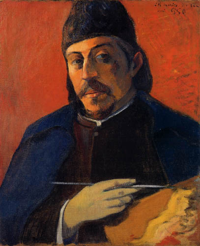 Paul Gauguin - Selfportrait with palette