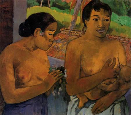 Paul Gauguin - Offering