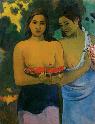 Paul Gauguin - Two Tahitian Women