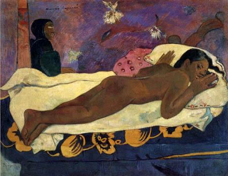 Paul Gauguin - Manoa tupapau