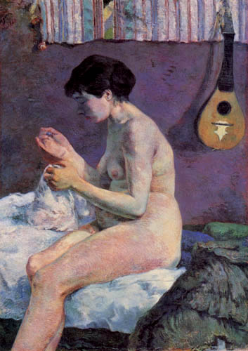 Paul Gauguin - Nude, study