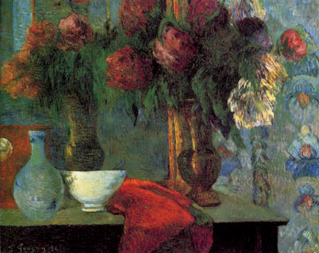 Paul Gauguin - Still Life with a White Dish