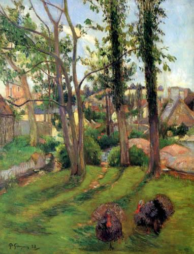 Paul Gauguin - Los pavos