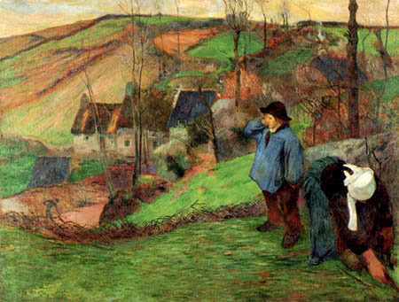 Paul Gauguin - Shepherd of Brittany
