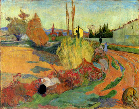 Paul Gauguin - Landscape near Arles