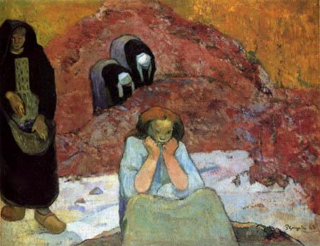 Paul Gauguin - Harvest in Arles
