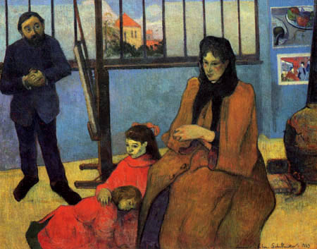 Paul Gauguin - Family Schuffenecker