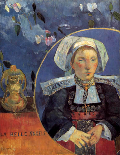 Paul Gauguin - La Belle Angéle