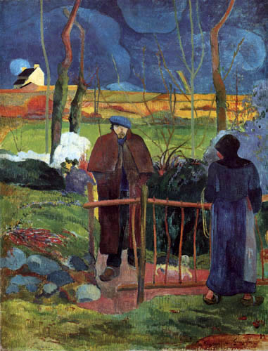 Paul Gauguin - Bonjour, Monsieur Gauguin