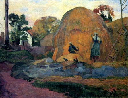 Paul Gauguin - The golden harvest