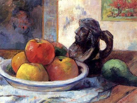Paul Gauguin - Still life with apples