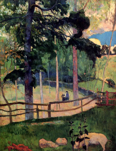 Paul Gauguin - A promenade