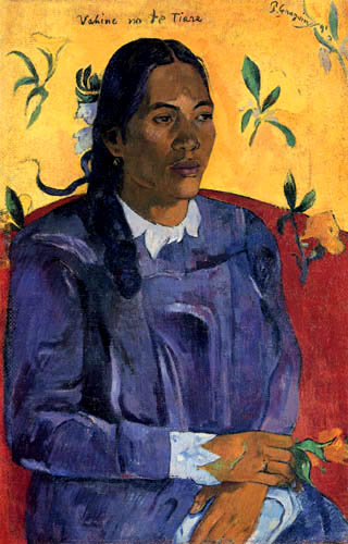 Paul Gauguin - The Girl with a Flower