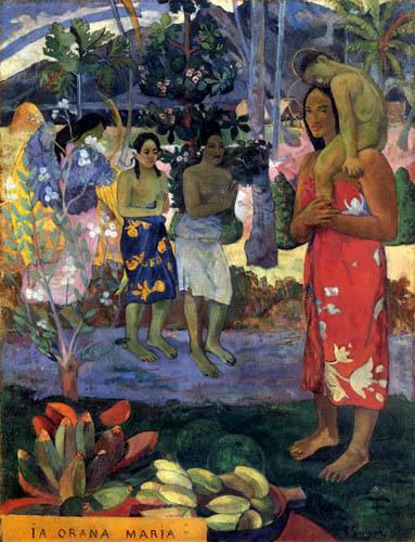 Paul Gauguin - Ia Orana Maria