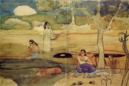 Paul Gauguin - Scene