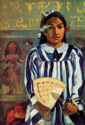 Paul Gauguin - Tehamana hat viele Ahnen