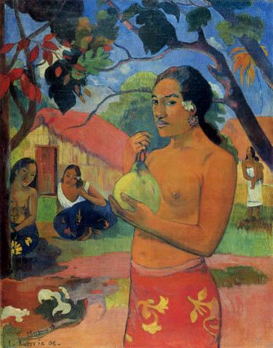 Paul Gauguin - Ea haere ia oe?, Wohin gehst du?