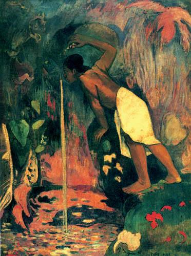 Paul Gauguin - Pape moe