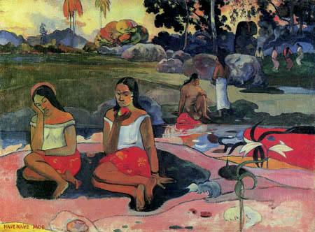 Paul Gauguin - Nave nave moe, Herrliches Geheimnis