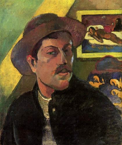 Paul Gauguin - Selfportrait with hat