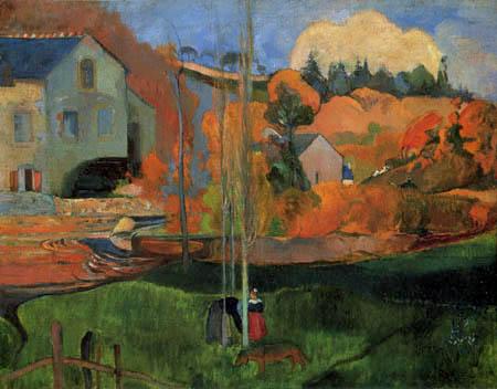 Paul Gauguin - The David mill in Port-Aven