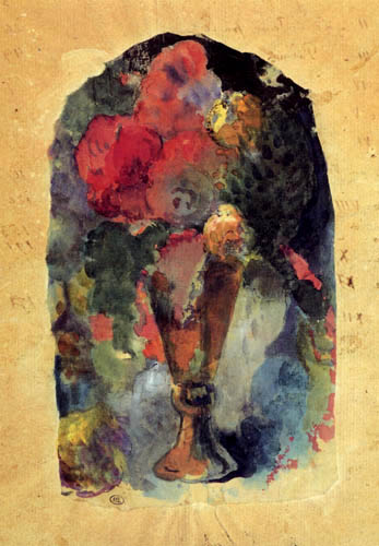 Paul Gauguin - Flower vase after Delacroix