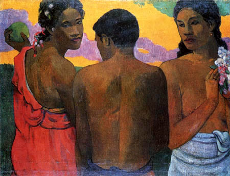 Paul Gauguin - Native on Tahiti