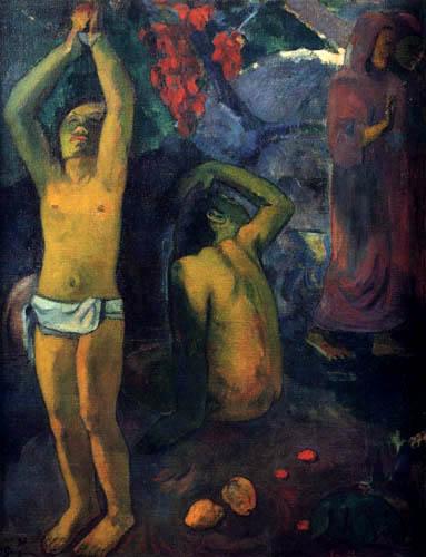 Paul Gauguin - A man from Tahiti