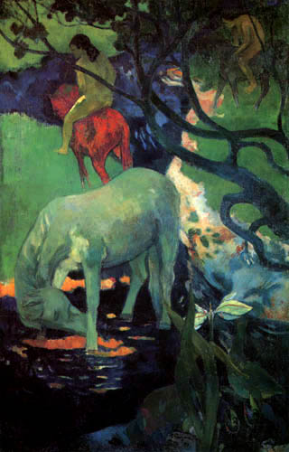 Paul Gauguin - White Horse