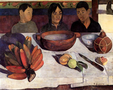 Paul Gauguin - The meal