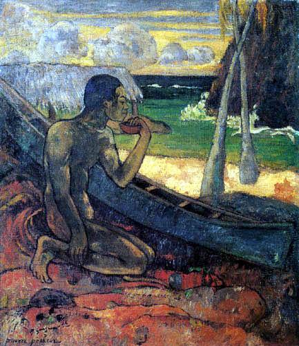 Paul Gauguin - Armer Fischer