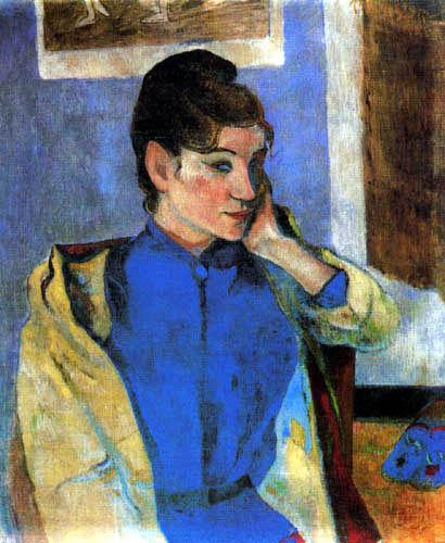 Paul Gauguin - Bildnis madeleine Bernard