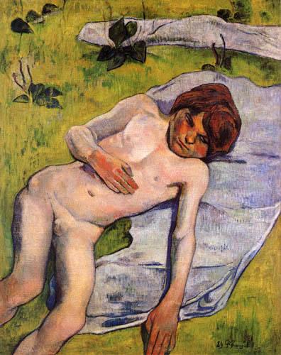 Paul Gauguin - Bretonischer Junge