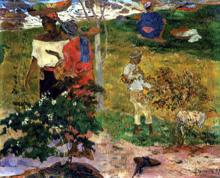 Paul Gauguin - Conversation