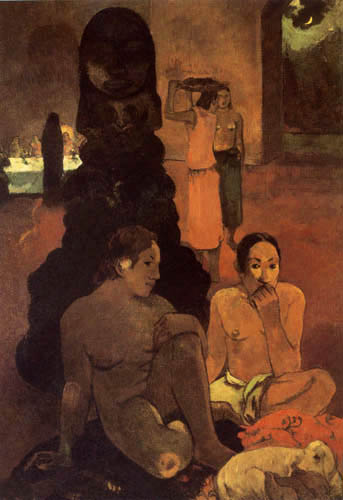 Paul Gauguin - Der grosse Buddha