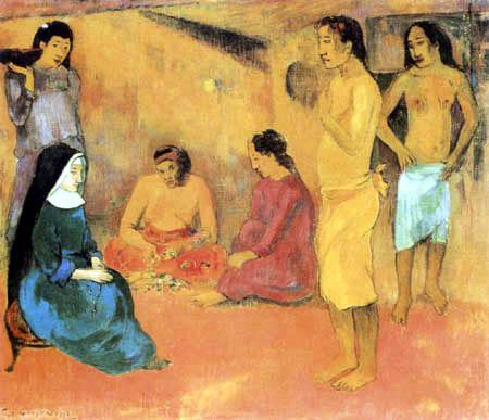 Paul Gauguin - Die barmherzige Schwester