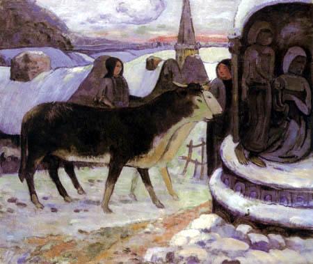 Paul Gauguin - Die heilige Nacht