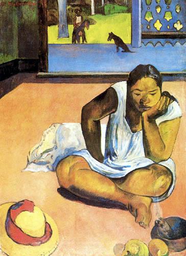 Paul Gauguin - Die Verdrossene