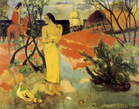 Paul Gauguin - Du erwartest einen Brief?