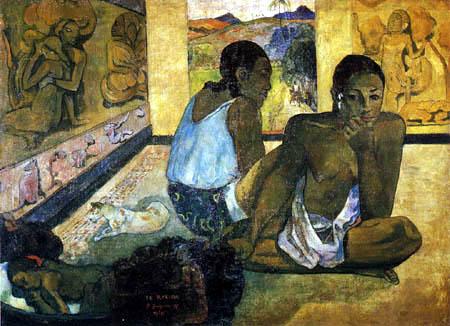 Paul Gauguin - El sueno